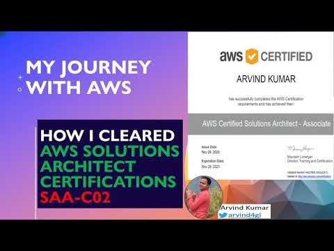 How I Cleared the AWS Solutions Architect Associate exam in 1st ...