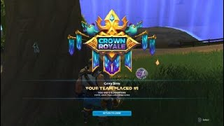 Realm Royale Squad Crown Royale 12 Kills Warrior