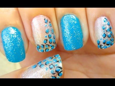 Azul com toque de Onça