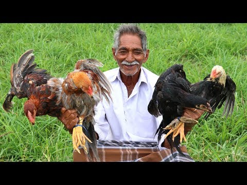 Country Chicken Biryani Recipe | Traditional Chicken Biryani By Our Grandpa For Kids