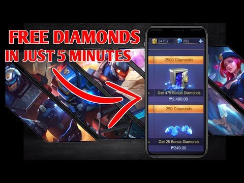 How to Get Free Diamonds in Mobile Legends Without Human Verification 2019 | In Just 5 Minutes