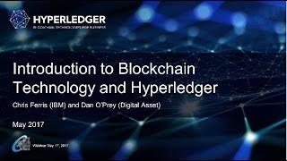 CSCC Webinar: Hyperledger: Advancing Blockchain Technology for Business