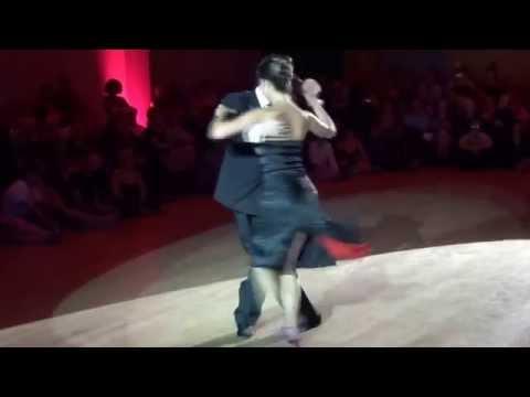 Stéphanie et Fausto au Festival Tango 2014,