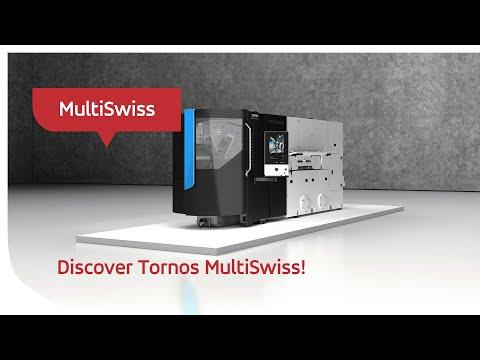 ¡Descubre Tornos MultiSwiss!