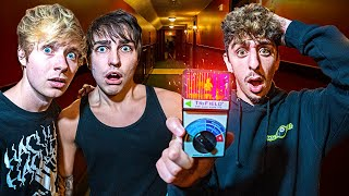 We Stayed at the SCARIEST Hotel in America.. (ft. Sam & Colby)