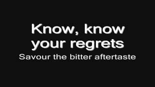 Arch Enemy - No More Regrets (lyrics) HD