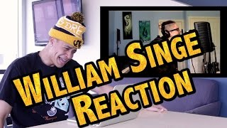 WILLIAM SINGE- STITCHES (REACTION VIDEO)