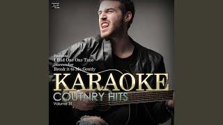 Jacksonville (In the Style of Josh Turner) (Karaoke Version)