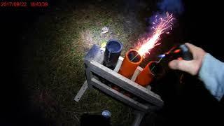 Veline Color Star Fireworks 1.5 in. can shells