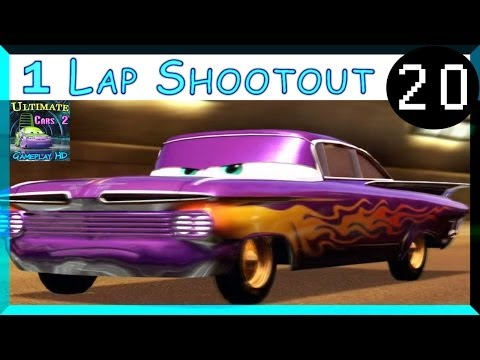Ramone Cars 2 The Game Race Hard Difficulty One Lap Shootout Imperial Tour Part 20