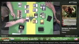 Pro Tour Theros - Standard Round 5 - (HOF) Frank Karsten vs. (HOF) Patrick Chapin