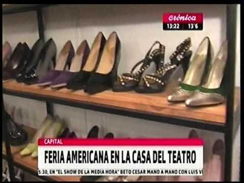 """Feria americana en """"La Casa del Teatro"""""""