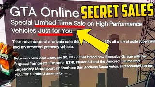 Rockstar Now Giving SECRET DISCOUNTS to GTA Online Players But Not Everyone is Getting Them!