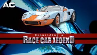 Rebuilding A Race Car Legend Ford Gt  Documentary