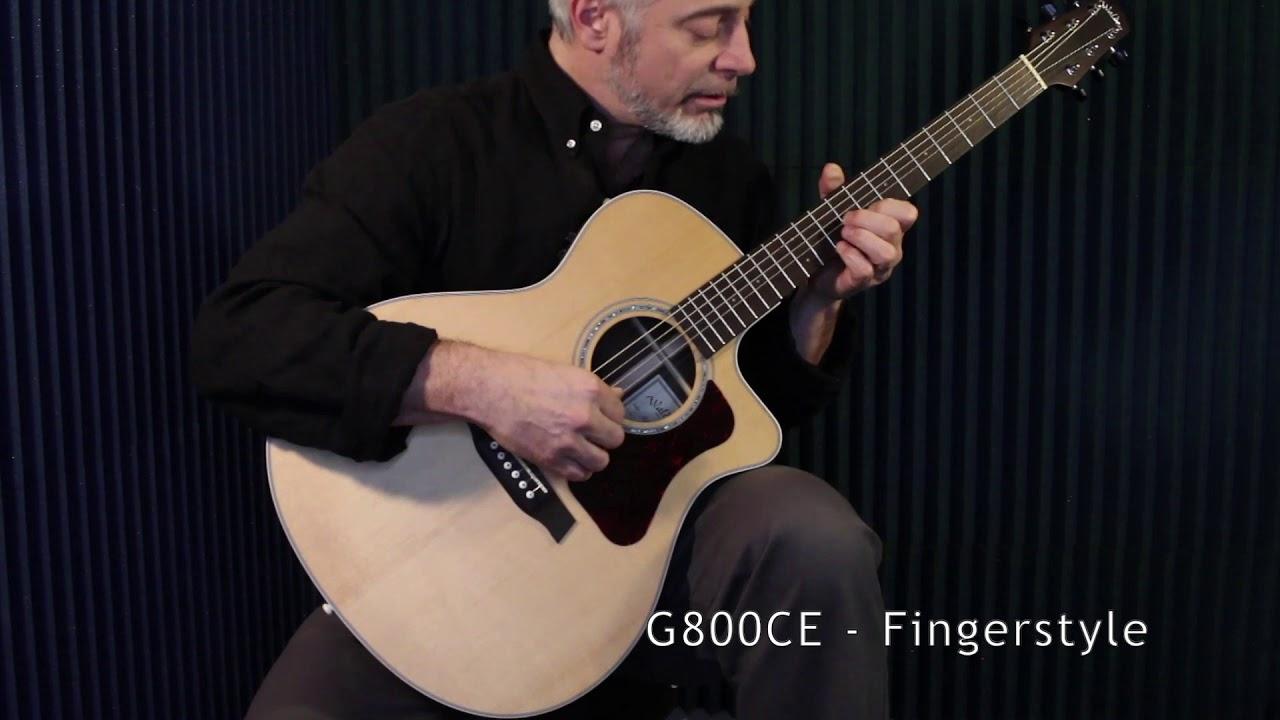 G800CE - Sound Clip: Fingerstyle