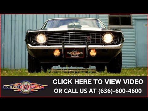 Video of '69 Camaro Z28 - L6AJ