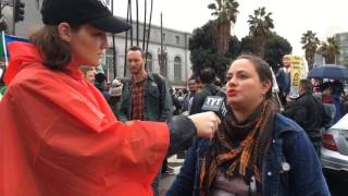 Live from the Los Angeles Anti-Trump Inauguration March