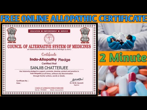 Free Certificate On