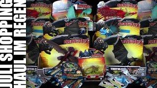 Dragons - Regen Shopping Haul im Juli 2014 / Re-Upload