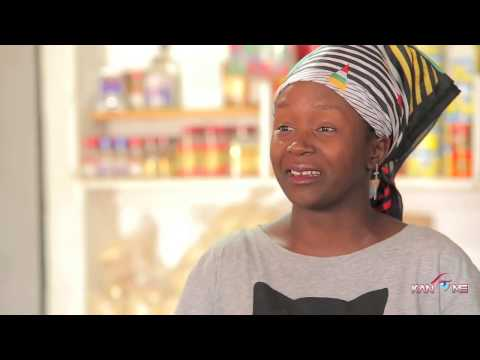 Kansiime steals business. African comedy.