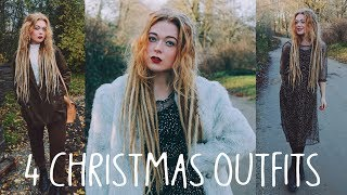 4. Four Cute Christmas Party Outfits