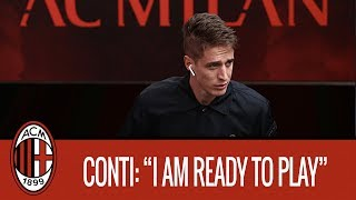 "Conti: ""I am healthy now and I feel ready"""