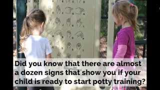 WHEN TO START POTTY TRAINING -  8 Readiness Signs
