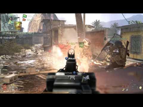 New Modern Warfare 2 Gameplay Highlights Knife Throw Kills