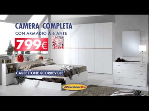Camera da letto completa con prezzo joodsecomponisten for Letto matrimoniale contenitore mercatone uno