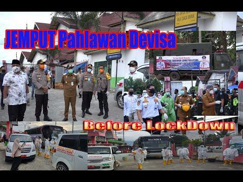 Bupati Batu Bara Apresiasi Polres Batubara salurkan bantuan paket sembako Dampak COVID-19