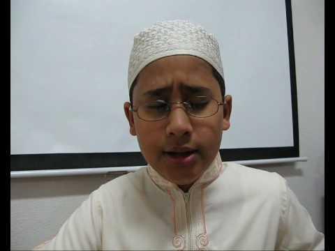 أنشودة أخي  للطالب : عبدالله محمد
