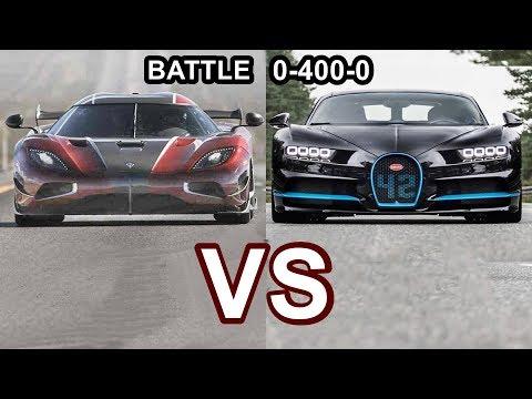 2018 Koenigsegg Agera RS VS 2018 Bugatti Chiron - World's Fastest Cars!!