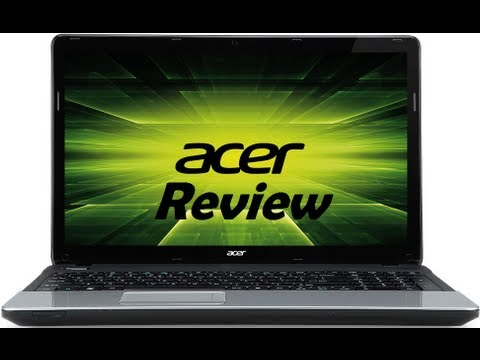 Acer Aspire E1 Review
