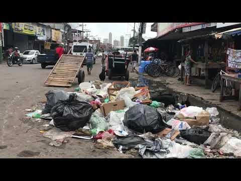 Lixo em Belém - Av. Bernardo Sayão