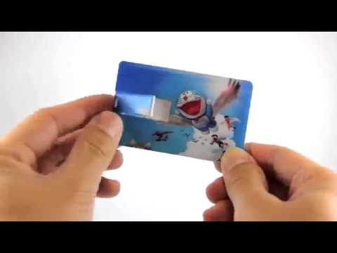 Credit Card USB Pen Drives 8 GB