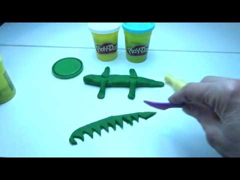 Play Doh Video - Dinosaur From Peppa Pig Cartoon Rhymes For Babies And Toddlers