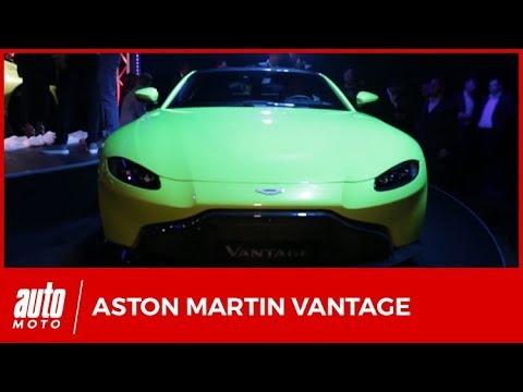 2018 Aston Martin Vantage : présentation du nouveau coupé de 510 ch