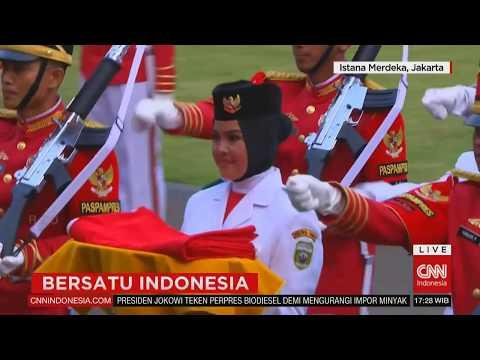 FULL Upacara Penurunan Sang Merah Putih #BersatuIndonesia #17an