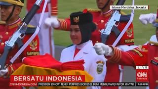 Download Video FULL Upacara Penurunan Sang Merah Putih #BersatuIndonesia #17an MP3 3GP MP4
