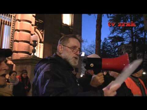 Narodni poslanik na protestima sa nezadovoljnim Nišlijama