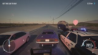 NFS Payback - Plymouth Barracuda Abandoned Car Location and Police Chase