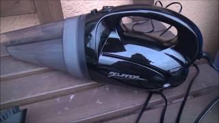 Auto Staubsauger MELIANDA MA-8100 Handstaubsauger 12V Test Super Saugergebnis