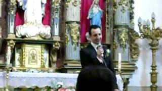 preview picture of video 'NOVIO CANTA A NOVIA EN LA BODA  HASTA MI FINAL  DE IL DIVO'