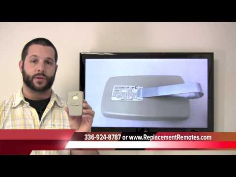 Multi-Elmac 3089 visor size garage door opener Garage Door Opener