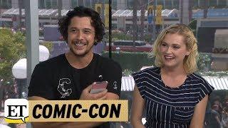 Eliza Taylor & Bob Morley - 21/07/18 - ET (SDCC 2018)