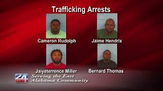 4 Drug Trafficking Suspects Arrested in Gadsden