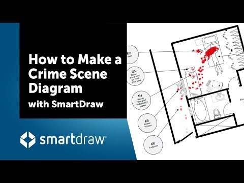 Make a Crime Scene Diagram - Diagramming with SmartDraw