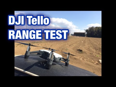 【DJI Tello】RANGE TEST レンジテスト【WiFi Extender 】