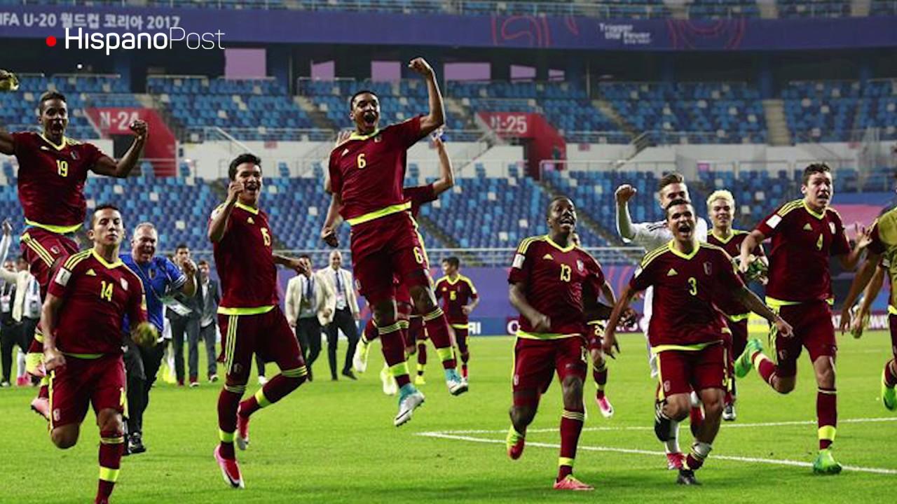 El fútbol lleva una luz de esperanza a Venezuela