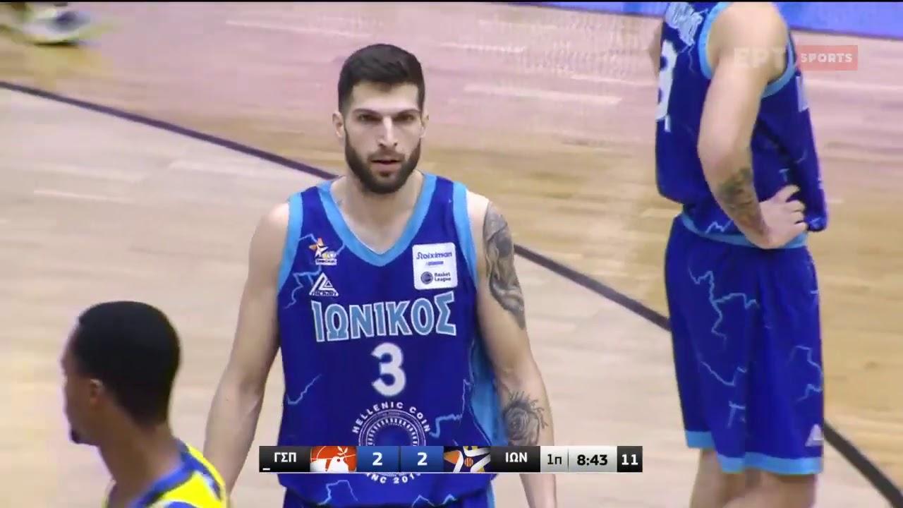Basket League 2020 2021|  Περιστέρι vs Ιωνικός | 30/01/2021 | ΕΡΤ